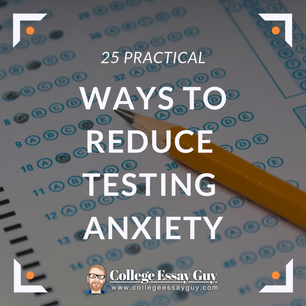 reduce testing anxiety