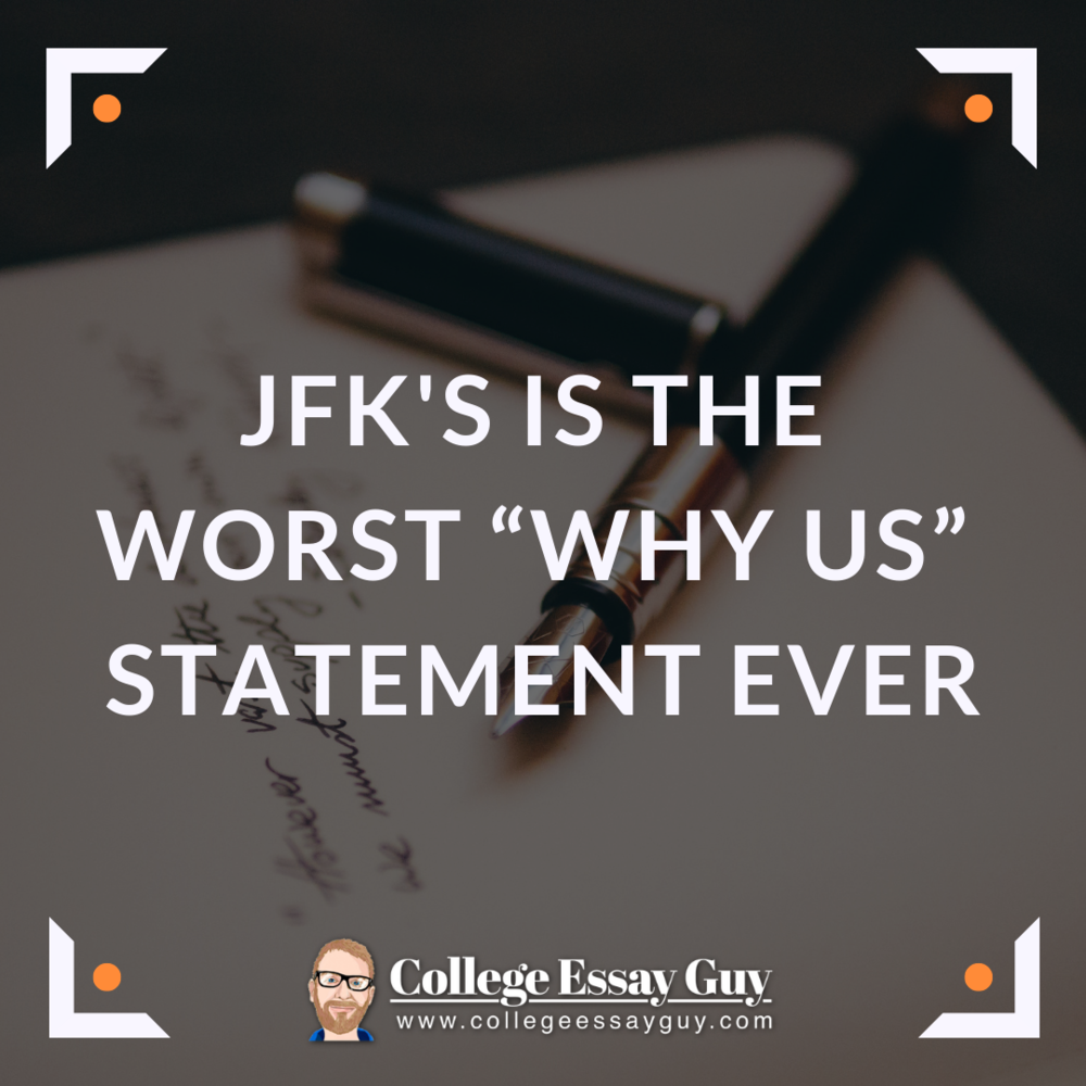 Jfks Is The Worst Why Us Statement Ever  Essay In English Literature also High School Years Essay  Example Of A Essay Paper