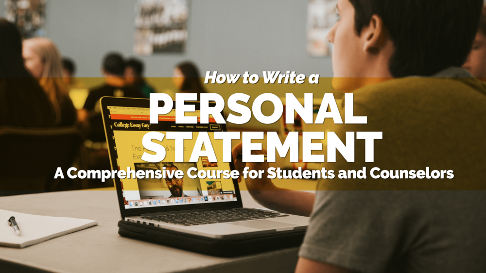 How To Make A Good Thesis Statement For An Essay Want Help Writing An Amazing College Essay Try Out My Stepbystep Video  Course For Free Here Conscience Essay also Public Health Essay Personal Statement Tips For College And University Applications  Essay Com In English