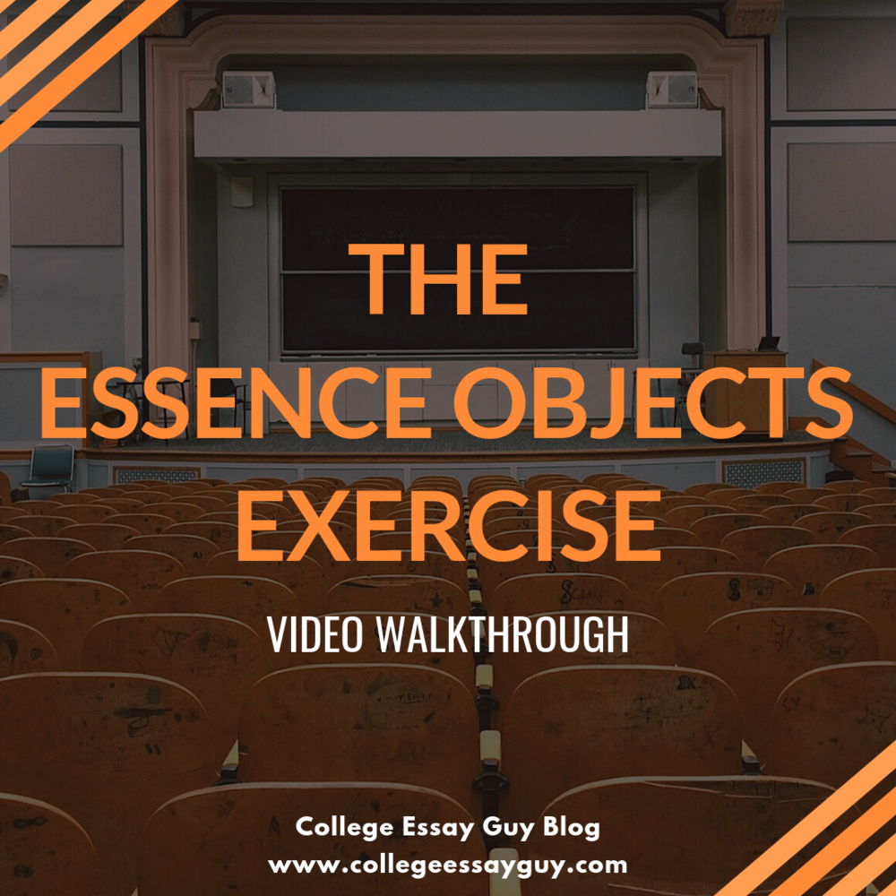 The Essence Objects Exercise - Video Walkthrough.png