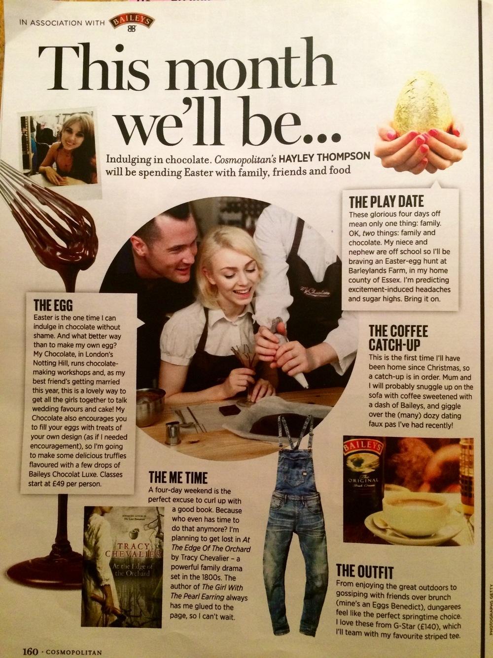 Cosmopolitan April 2016