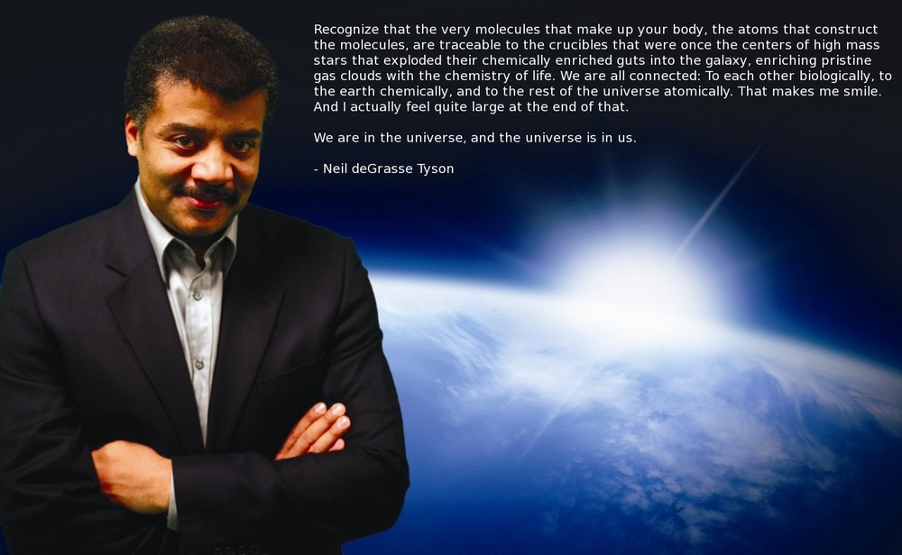 Science, bitches! Neil deGrasse Tyson, American astrophysicist and cosmologist. www.imgur.com