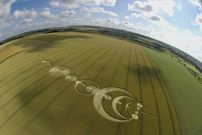 Crop Circles Are Merely Aliens Drawing Giant Penises On Earth