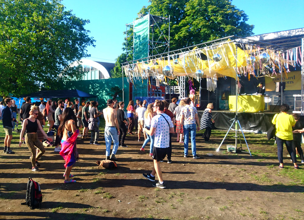 The Backyard Stage boasts of one of the biggest lineups in Sweden.
