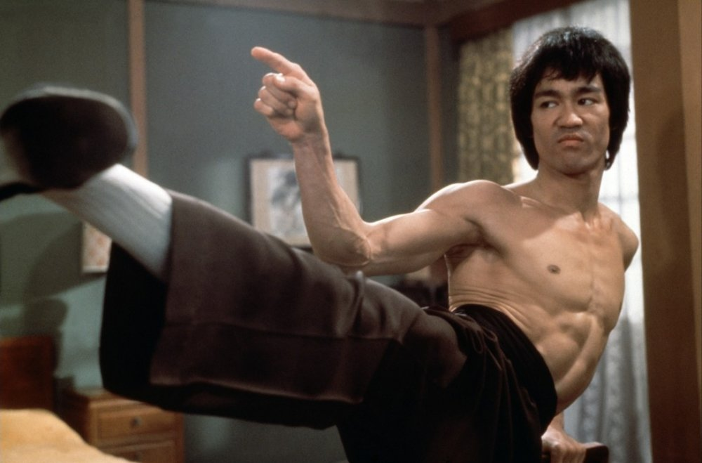 Please think that I'm as cool as Bruce Lee.