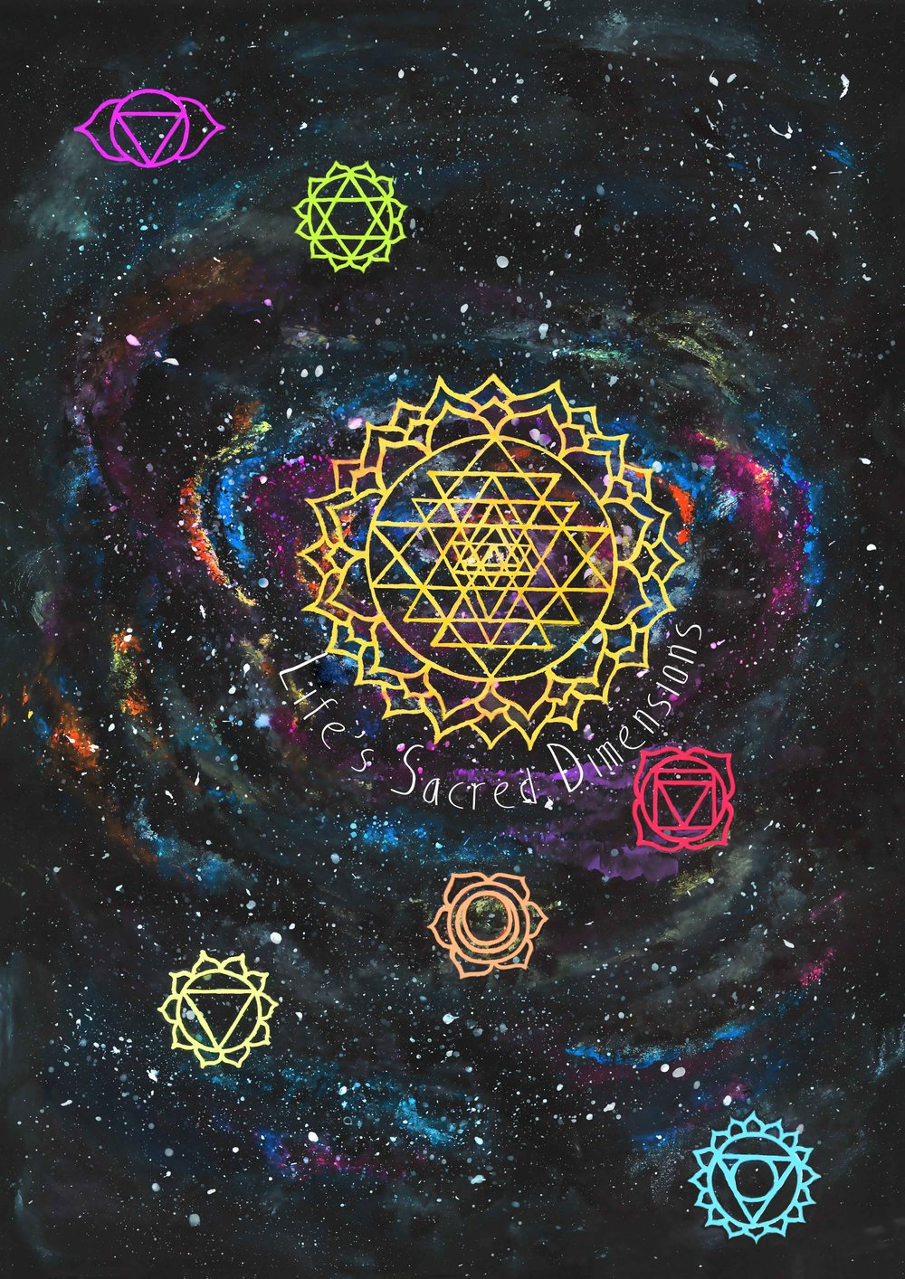 Life's Sacred Dimensions Poster  €9.99–€14.99 Available in A4, A3