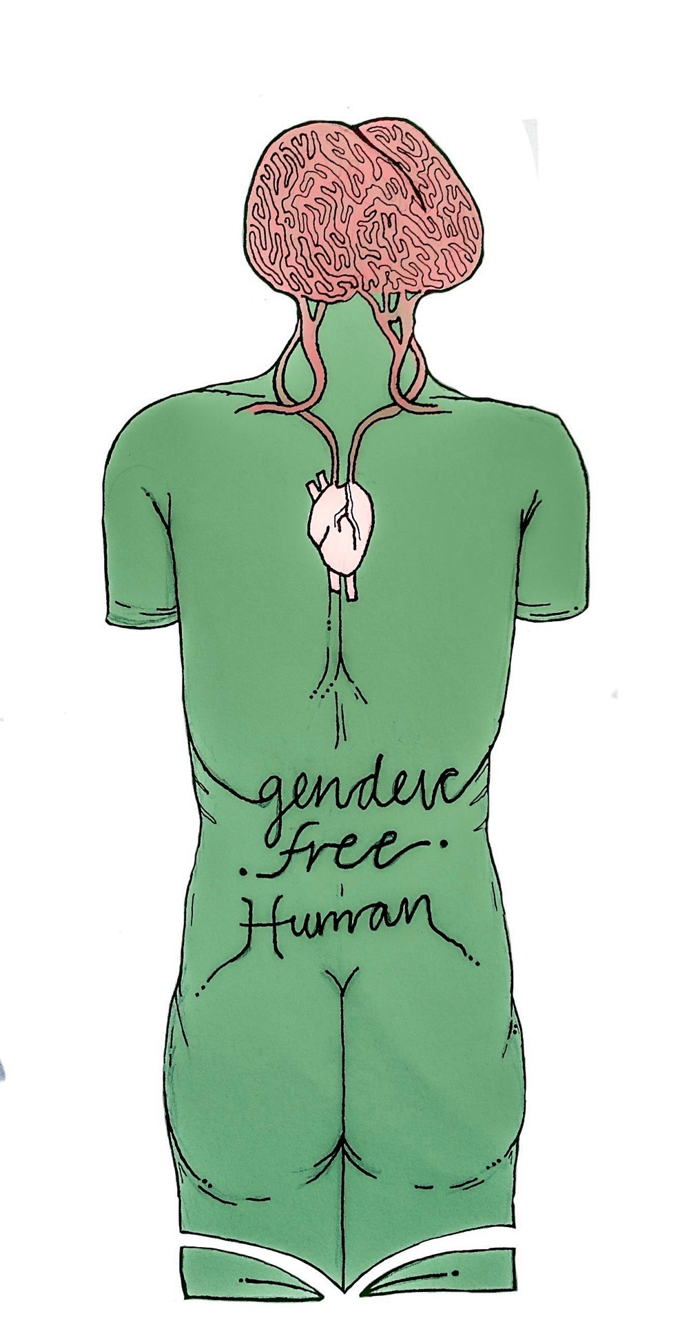 Gender-free Human Poster  €9.99–€14.99 Available in A4, A3