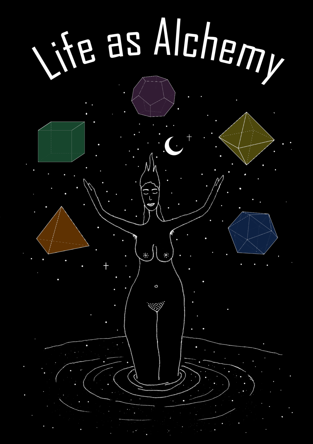 Life As Alchemy Poster  €9.99–€14.99 Available in A4, A3