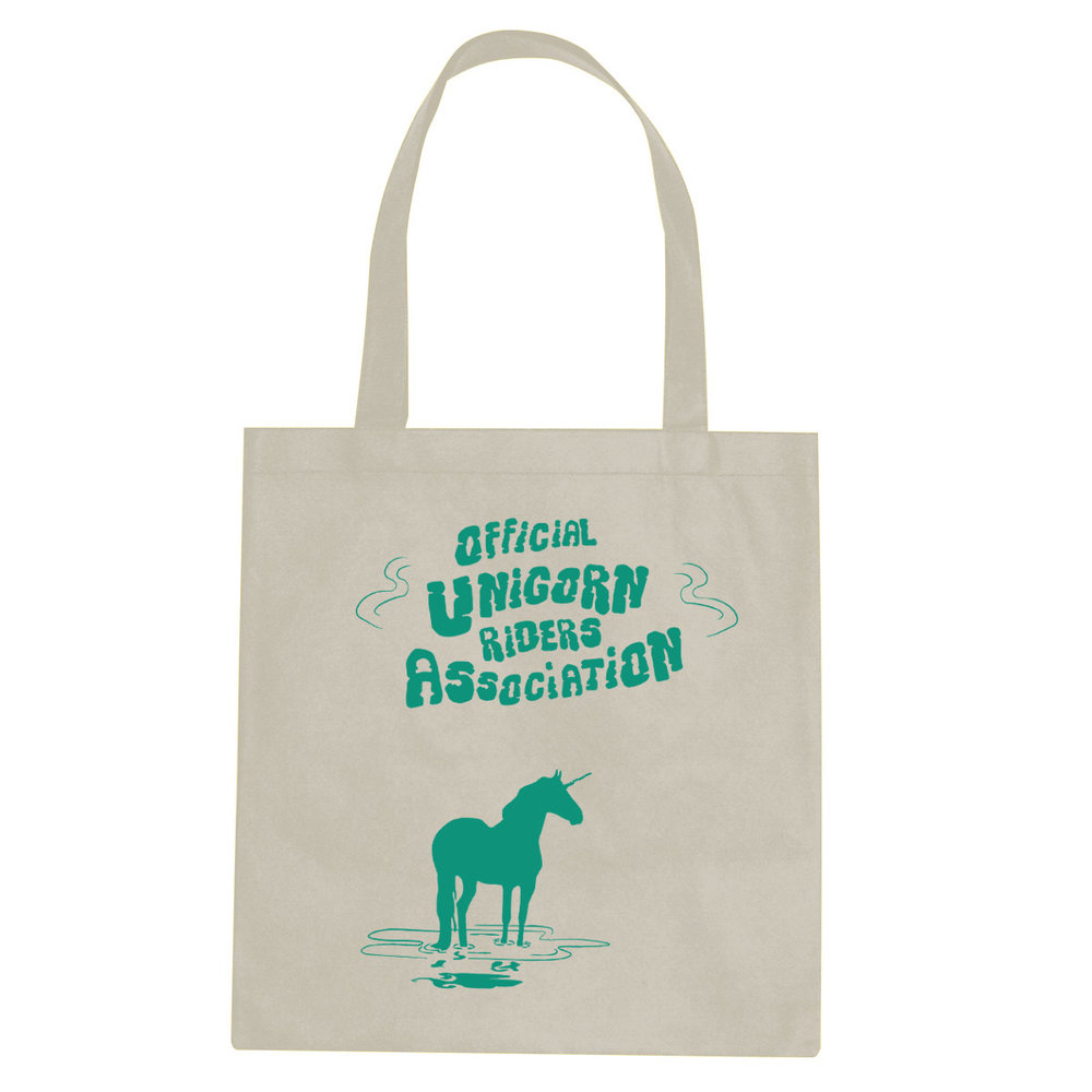 Unicorn Riders tote bag  €14.99 Available in natural