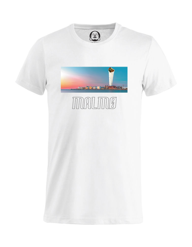 Malmø Turning Falafel T-shirt  €19.99 Available in white
