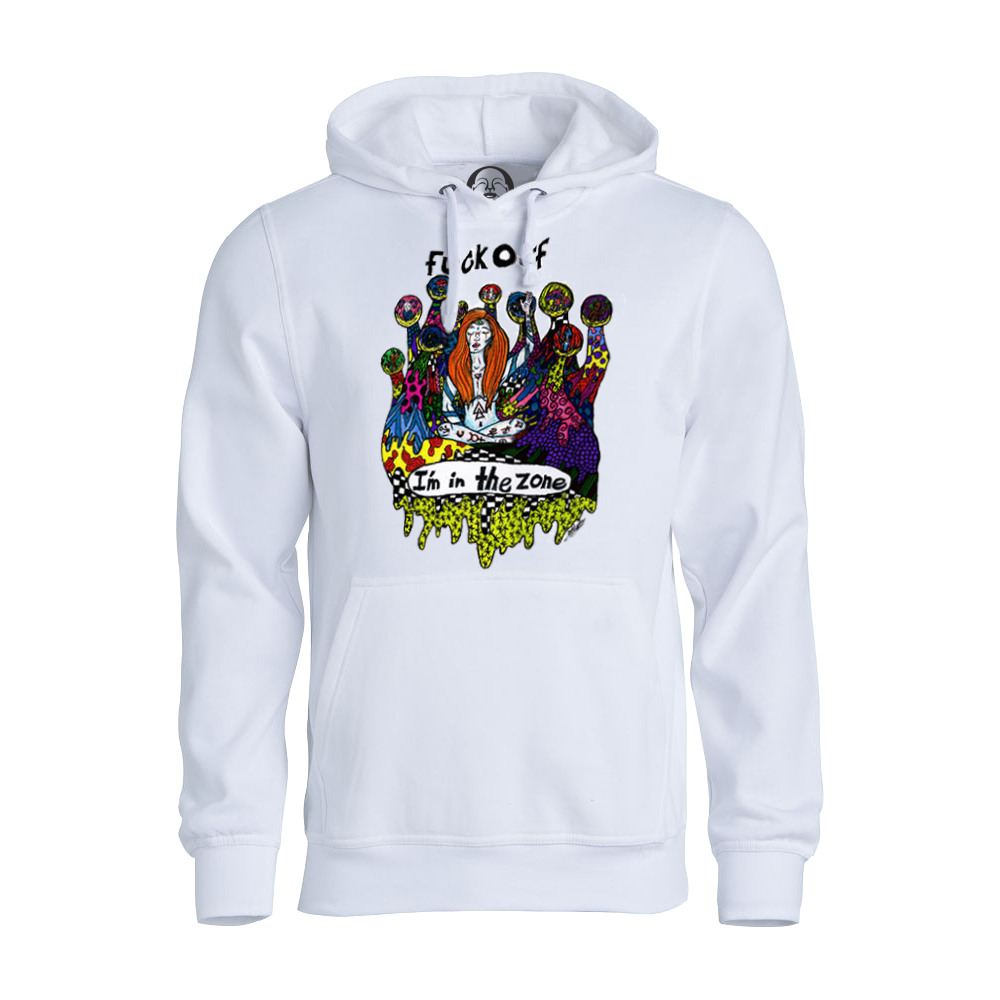 Fuck Off hoodie  €34.99 Available in white