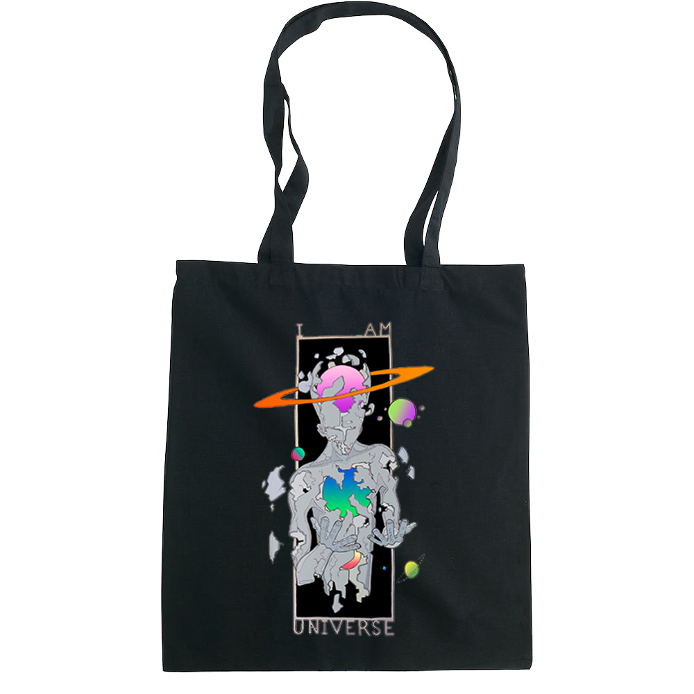 I am Universe tote bag  €14.99 Available in natural, black