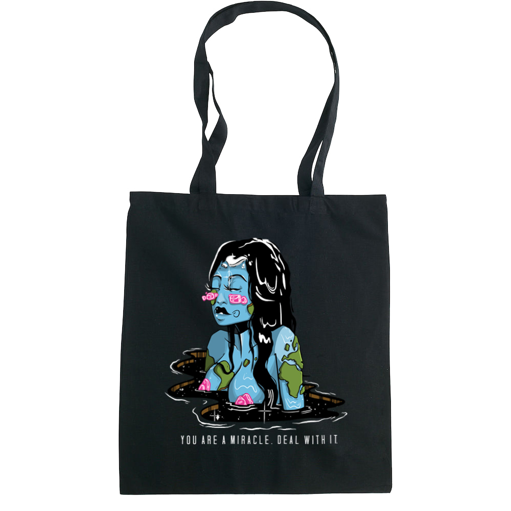 You are a Miracle tote bag  €14.99 Available in natural, black
