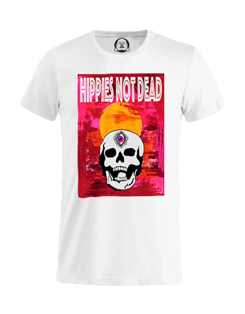 Hippies not dead tee (white).jpg