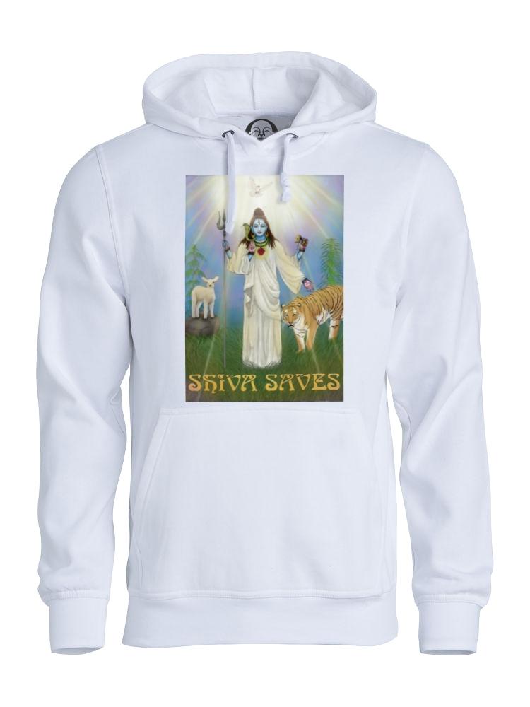 Shiva saves hoodie (white).jpg