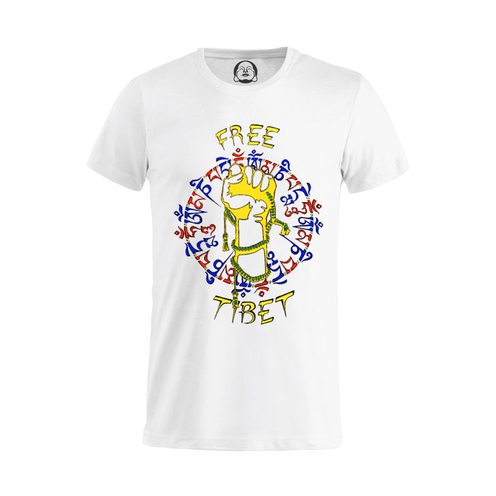 Free Tibet T-shirt  €19.99 Available in white, black, dark grey