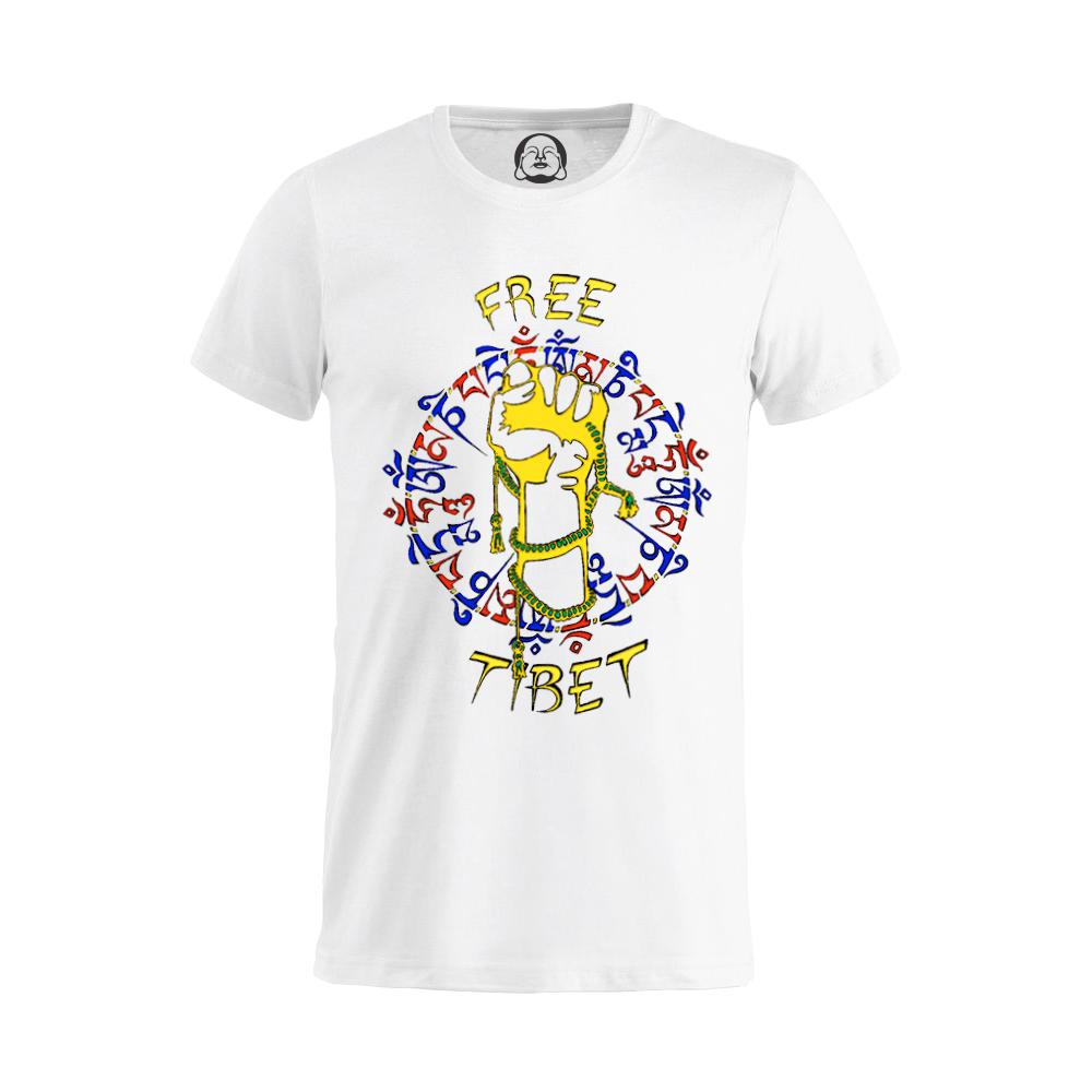 Free Tibet T-shirt  €19.99 Available in white, black, dark grey