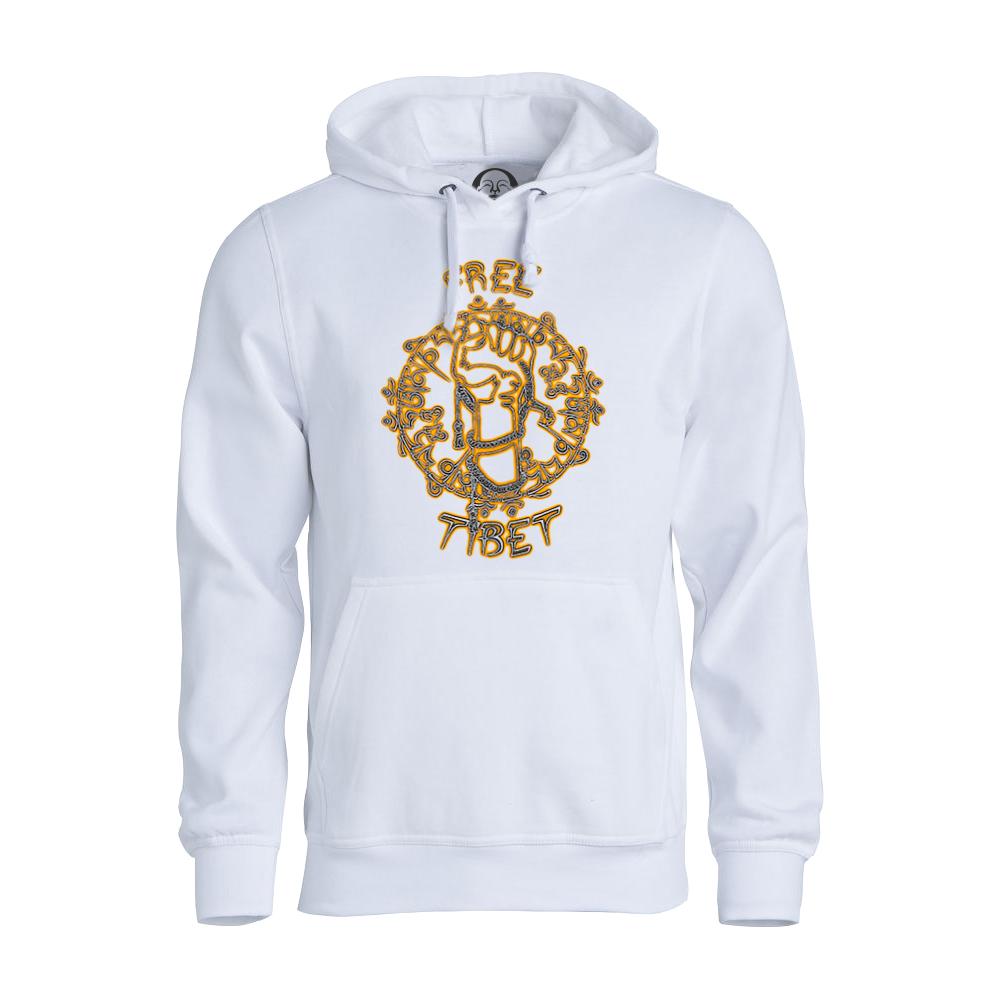Free Tibet hoodie  €34.99 Available in white, black, dark grey