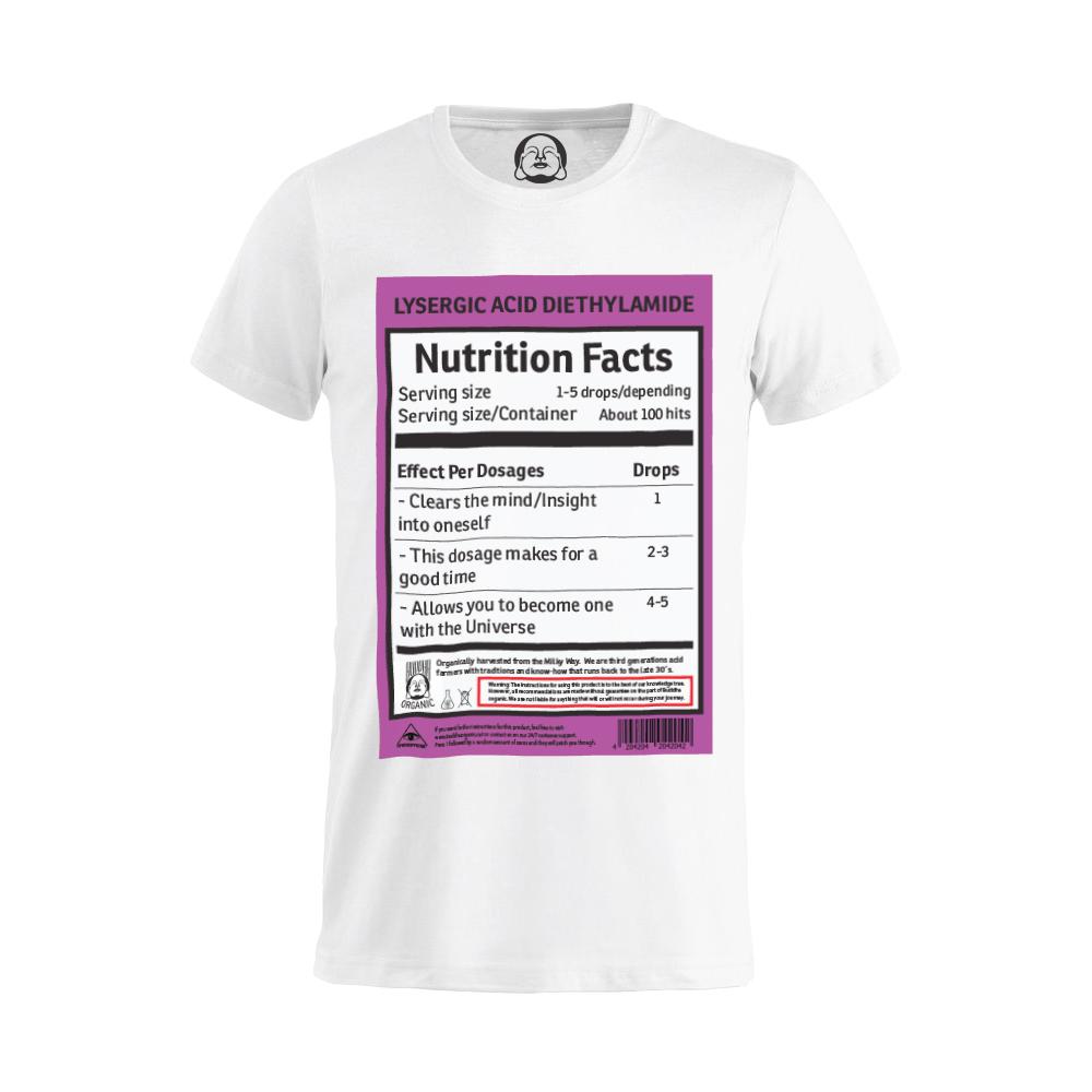 LSD Nutrition T-shirt  €19.99 Available in white, black, dark grey