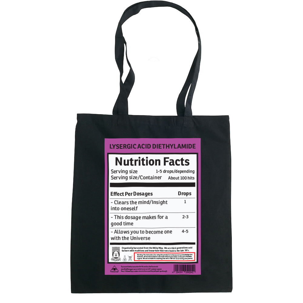 LSD Nutrition tote bag  €14.99 Available in natural, black
