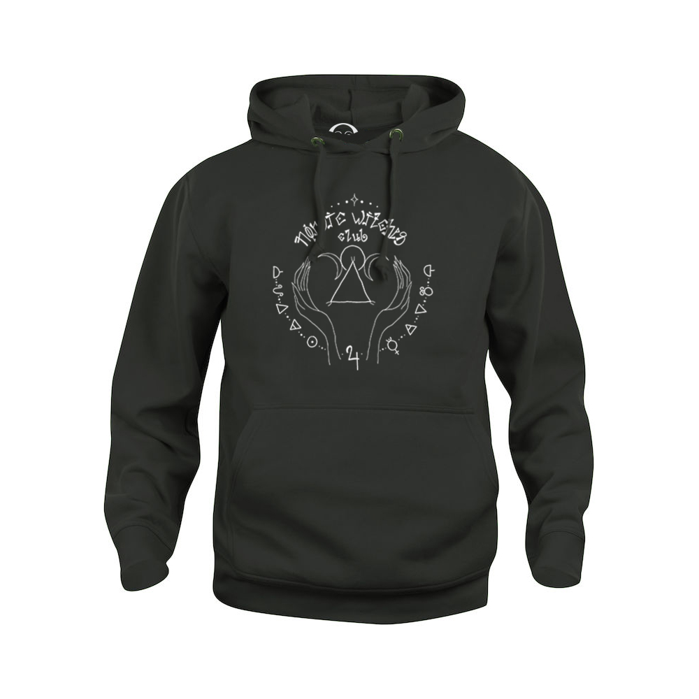 Nordic Witches Club hoodie  €34.99 Available in white, black, dark grey
