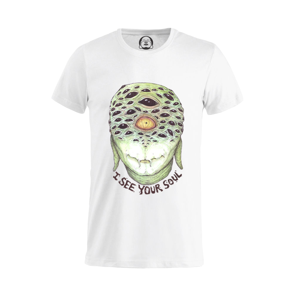 I See Your Soul T-shirt  €19.99 Available in white, black, dark grey