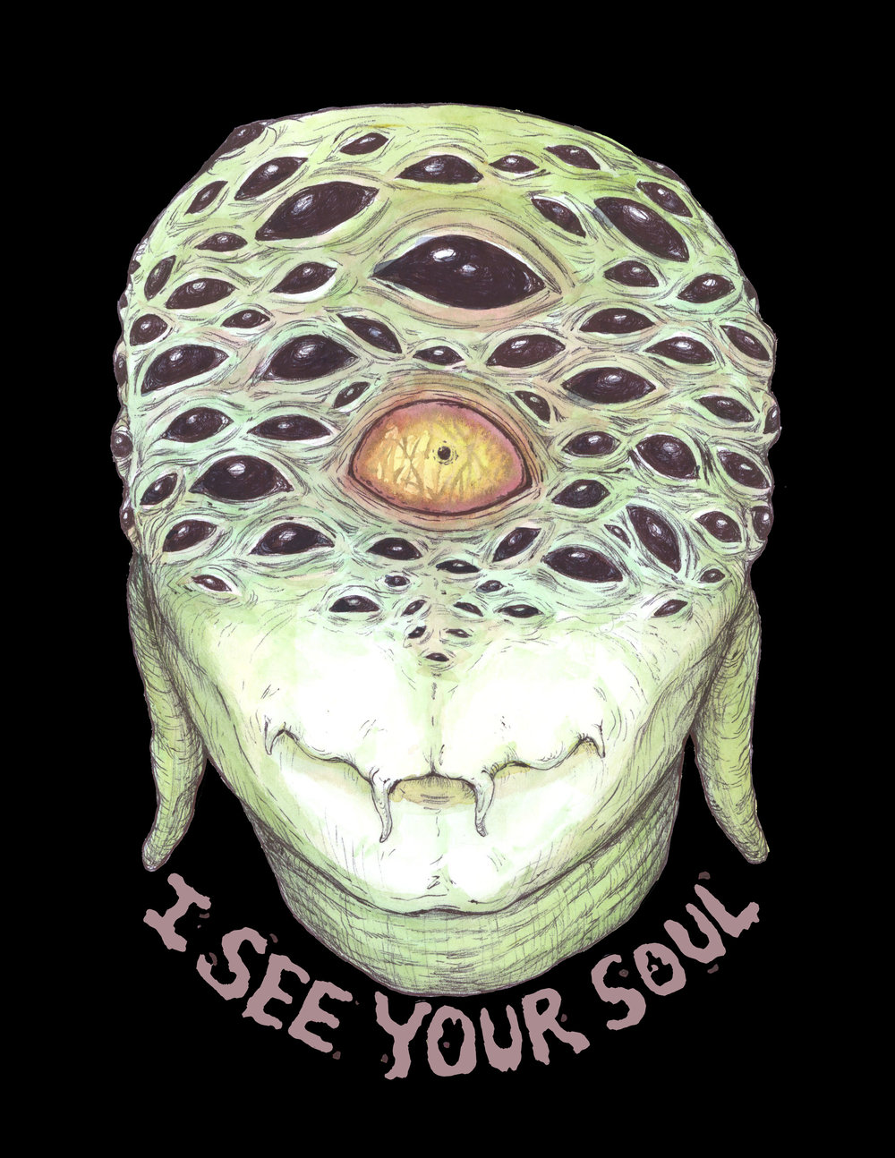 I See Your Soul Poster  €9.99–€14.99 Available in A4, A3