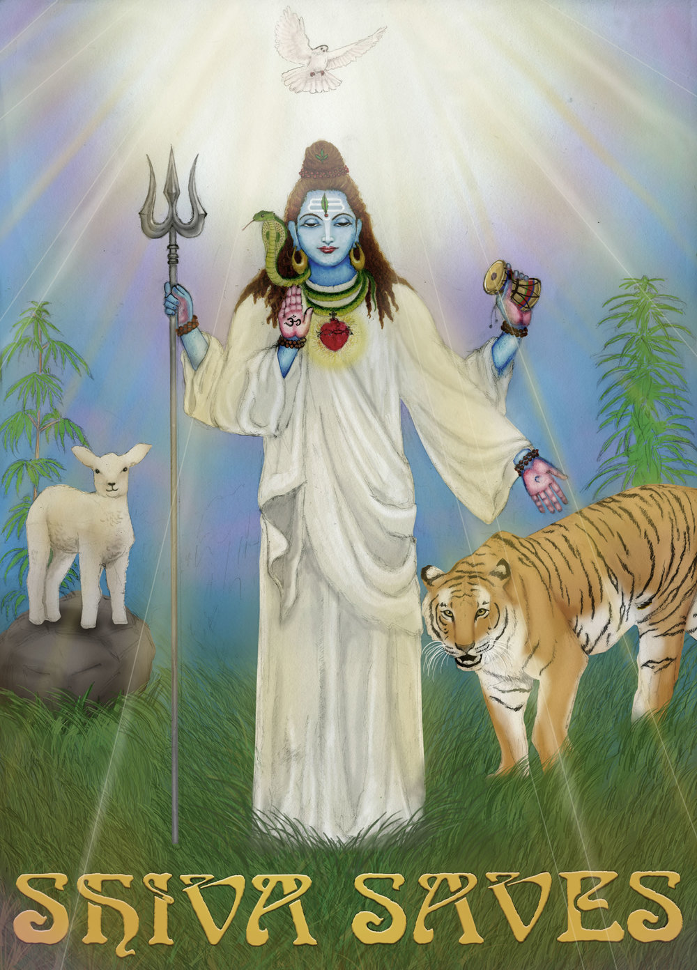 Shiva Saves Poster  €9.99–€14.99 Available in A4, A3