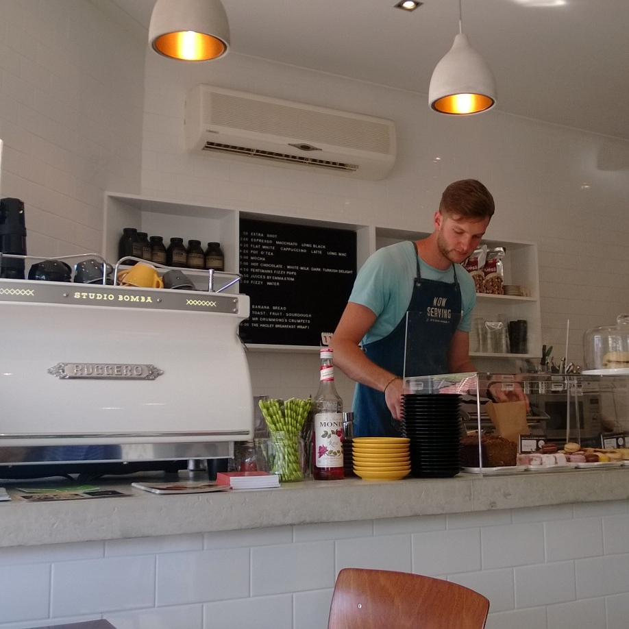 Studio Bomba's cafe
