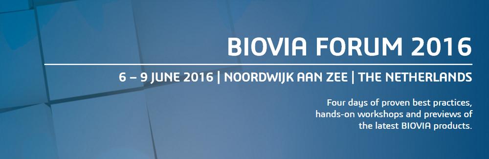 Discngine sponsor of the European BIOVIA Forum 2016