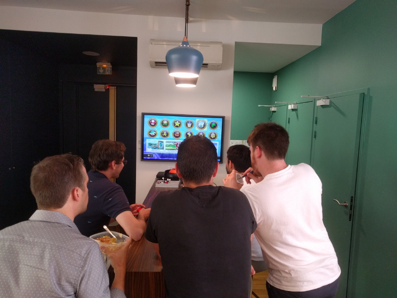 Want to play some video game during the lunch break, try out the new escape game in town, take a drink after work or plan a trip to Mauritius? Chances are you will find a couple of colleagues that want to join you.