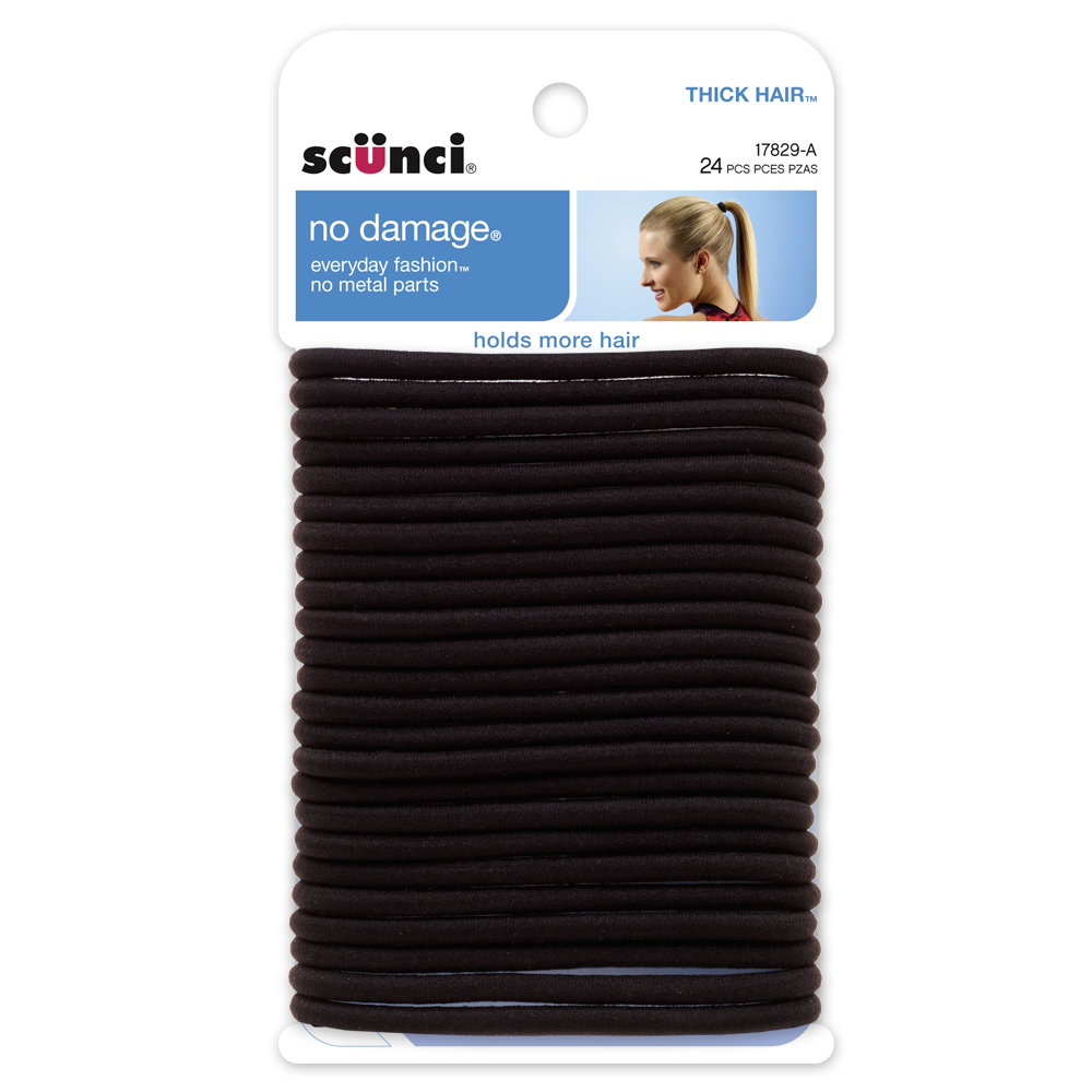 17829 - No Damage Thick Hair Elastics