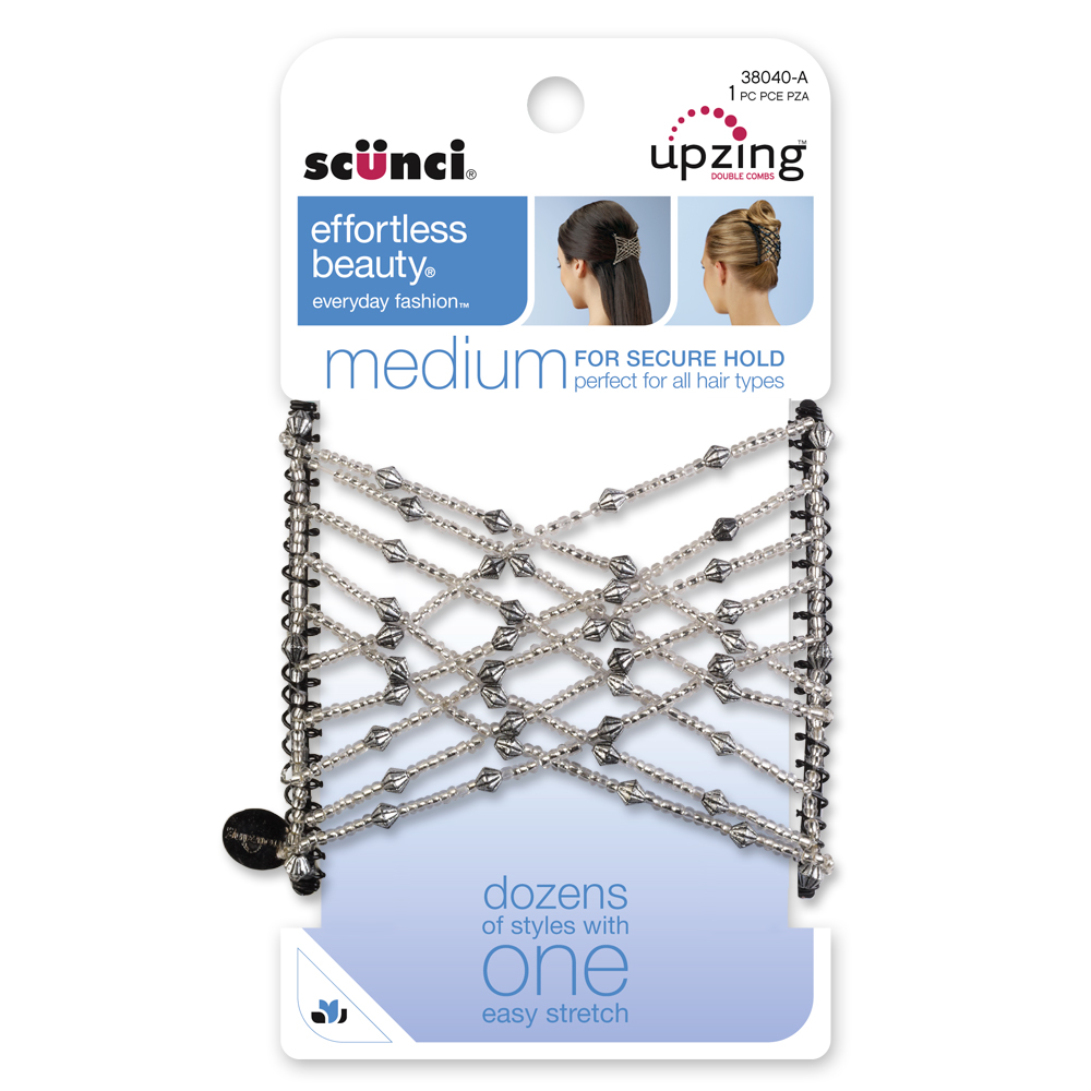38040: Medium Upzing Double-Stretch Hair Comb