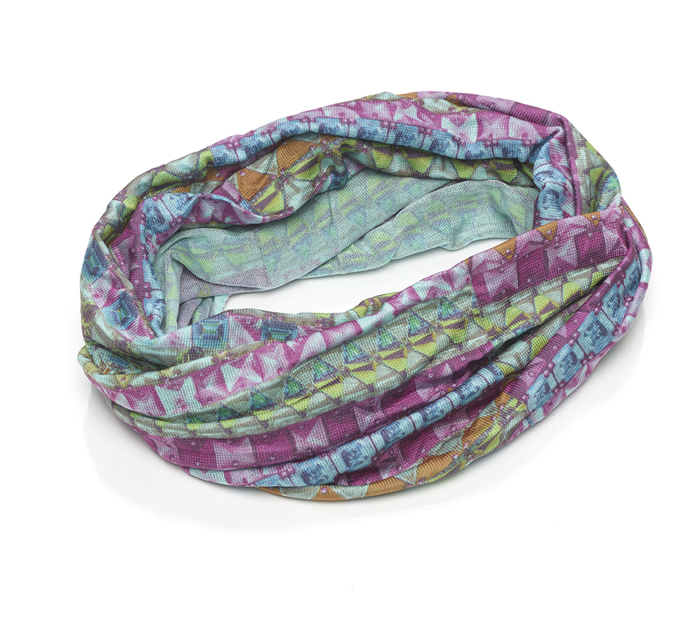 Printed Super Soft Wide Rolled Headwrap