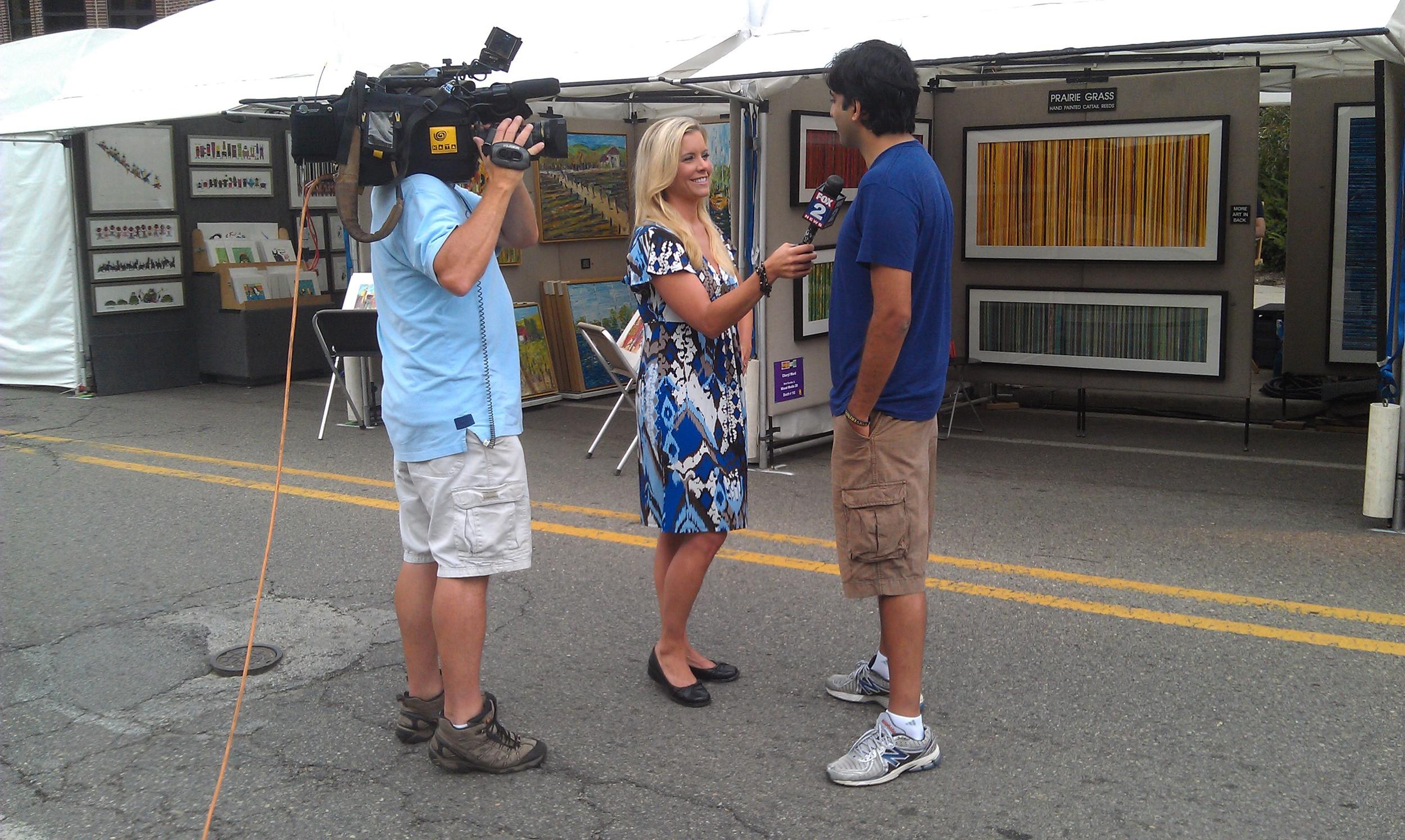 Art Fair Street Interview