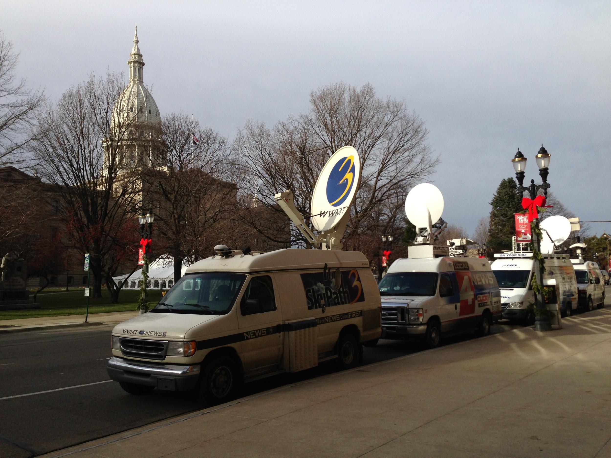 Media at Capitol