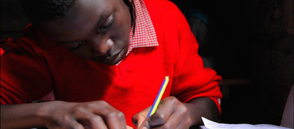 Student at the Ingrid Education Centre, the school supported by LiveGlobally.