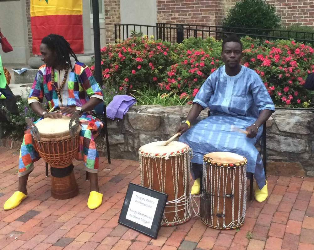 During the 108 sun salutations, Trenga Rhythms, including Diabel Diom and many more Senegalese drummers, will accompany us to help keep the energy of the room up!