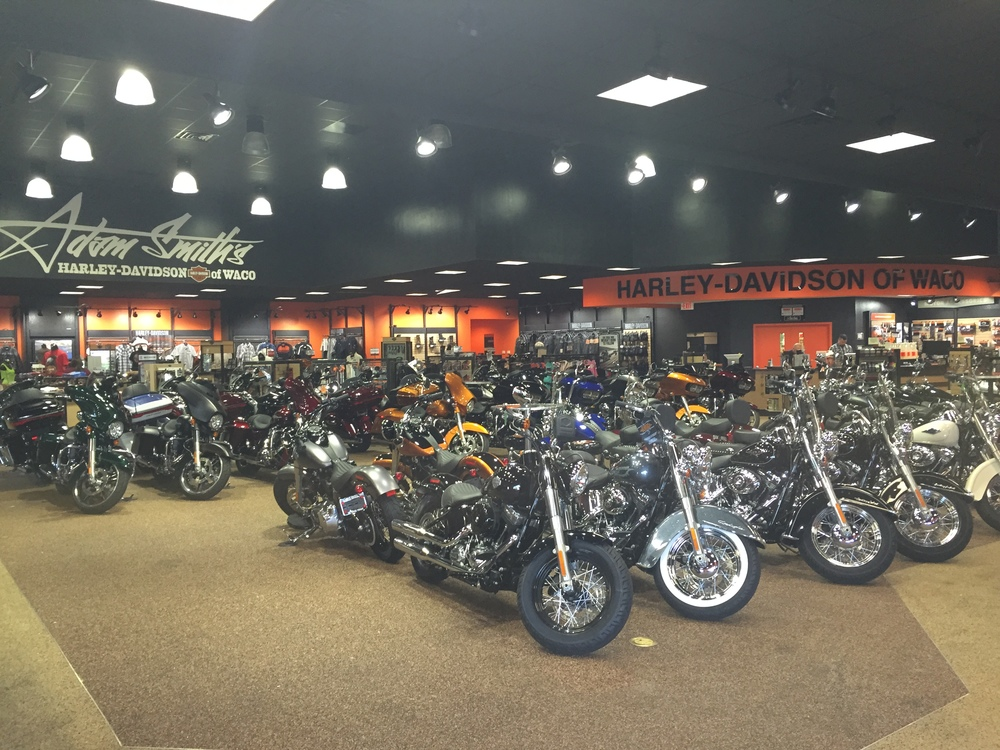 Adam Smith's Harley-Davidson of Waco Remodel completed July 2015