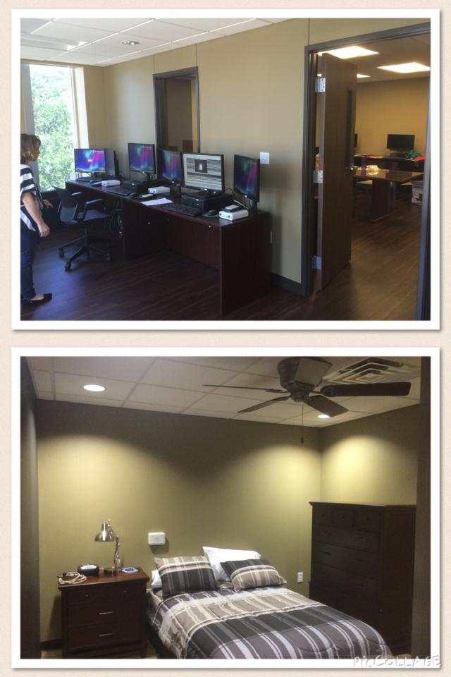 Baylor sleep lab  at Baylor university waco july 2015