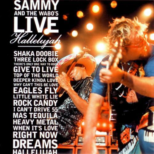 "Sammy and The Wabo's Live, ""Deeper Kinda Love,"" co-writer."