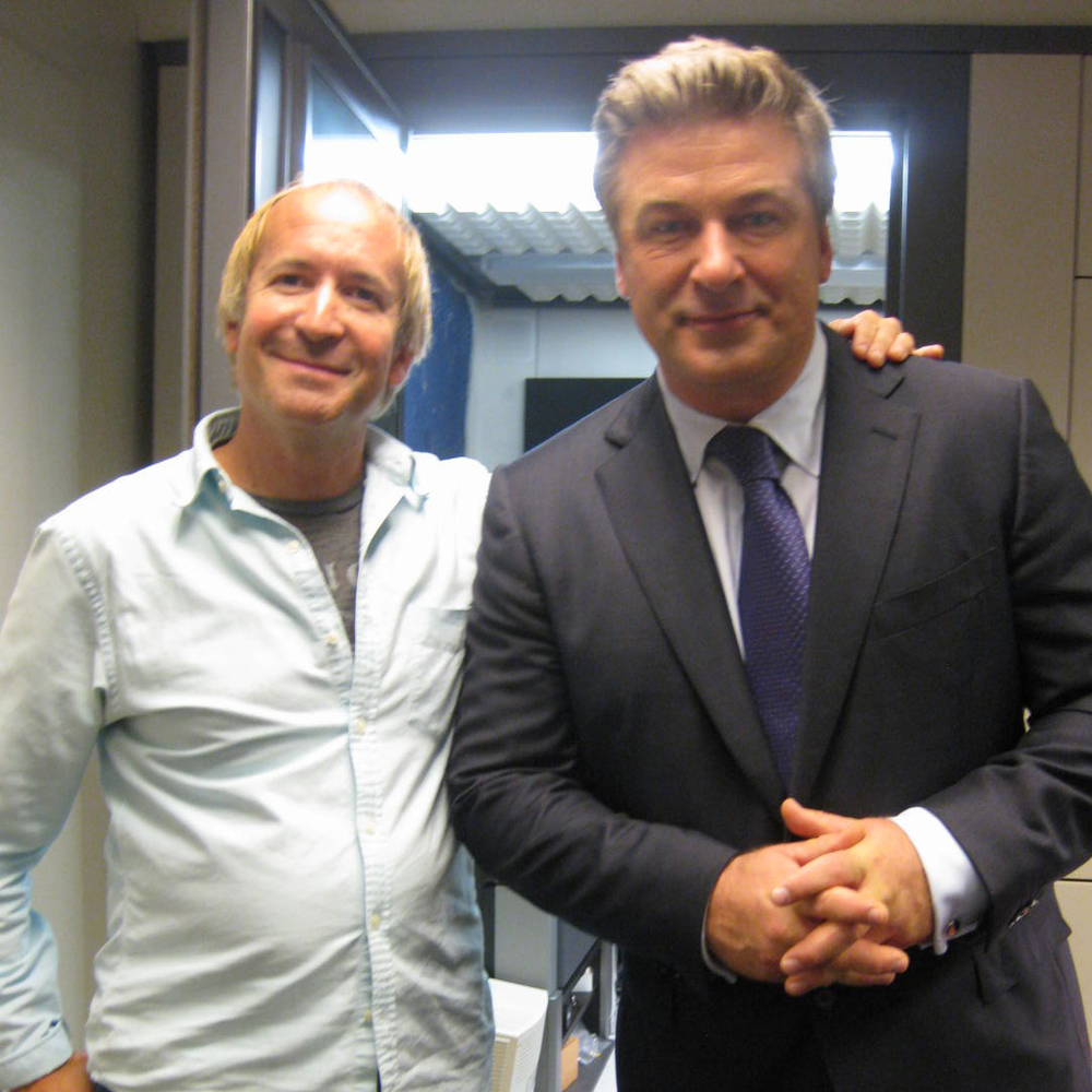 "Al Jardine with Alec Baldwin, ""Tidepool Interlude,"" co-producer."