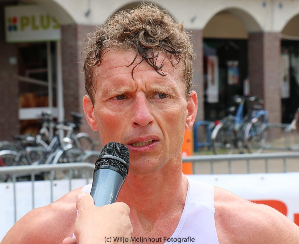Dirk Wijnalda, winnaar Oostermeent Triathlon 2014