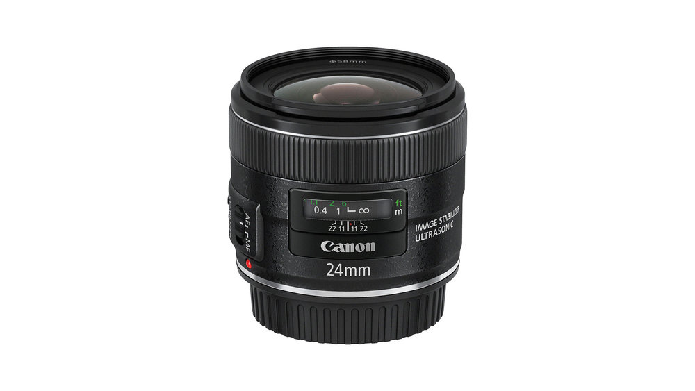 Canon 24mm f/2.8 IS Lens