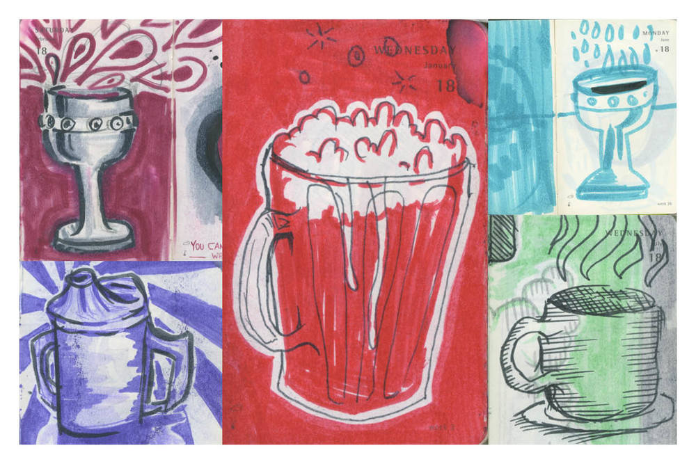 Drink - Illustrations by Stephen Harris and Peter Delgado