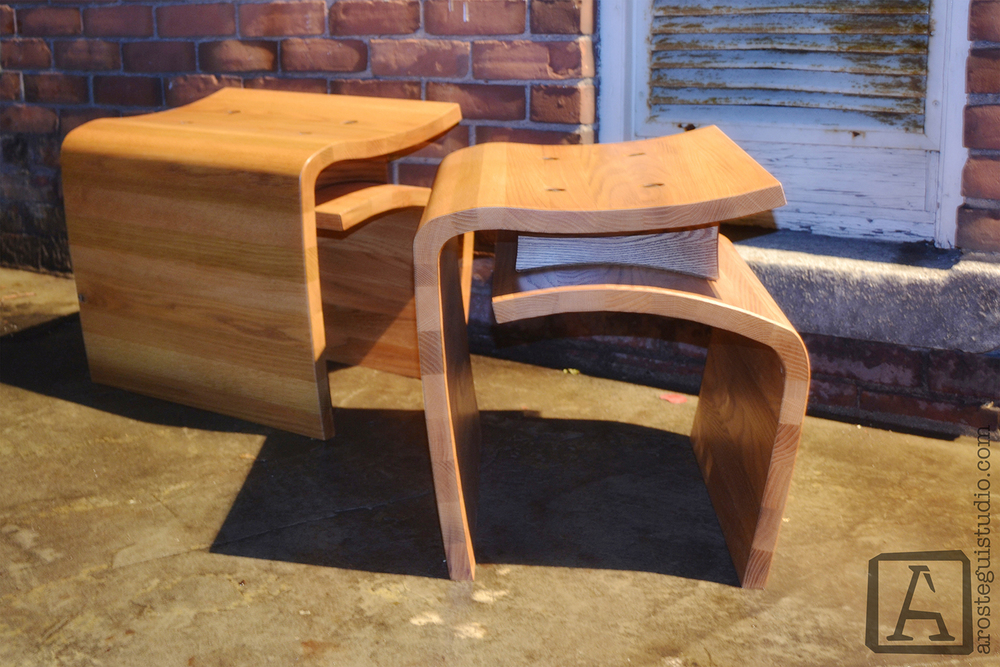 Marea bench arostegui studio furniture design for Furniture victoria bc