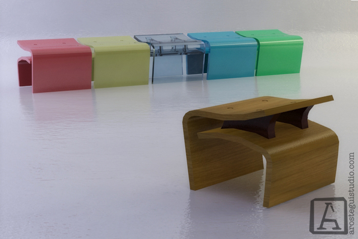 Marea Bench- ©2014 Arostegui Studio
