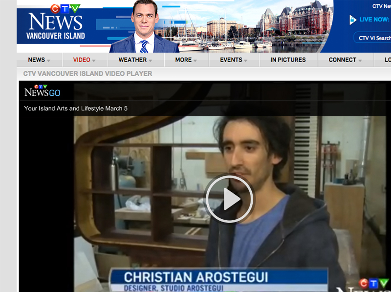 CTV news, Our world from a different perspective- Arostegui Studio