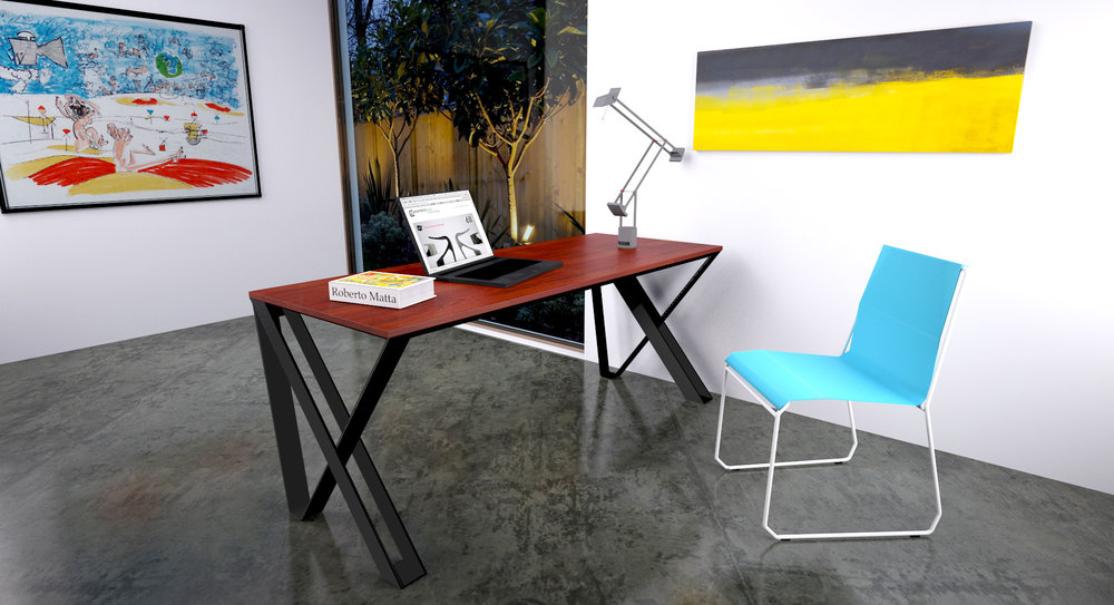 VX Desk And Lucca Chair