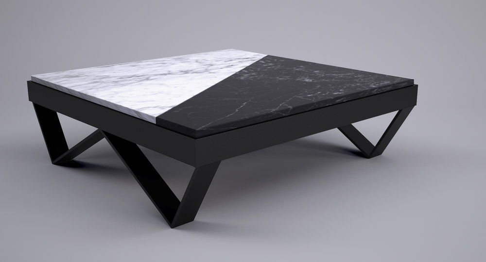 W Cofee Table- ©2018 Arostegui Studio